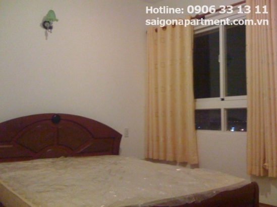Apartment for rent in 4S Riverside Building, Thu Duc ditsrict - 500$