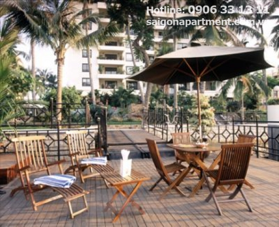 Luxury serviced apartment  for rent in Saigon Domaine building, Binh Thanh District, Ho Chi Minh city, Vietnam