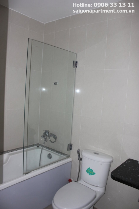 Serviced apartment for rent in Binh Thanh district, 2bedrooms - 600 USD