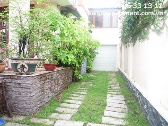 Villa with big pool for rent in Thao Dien- 3500 USD