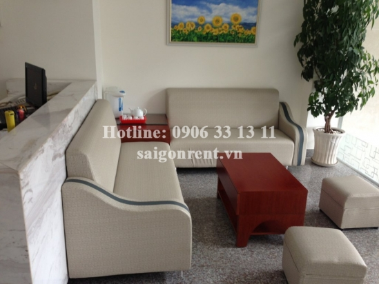Beautiful serviced apartment for rent close to District 1- studio 1bedroom with nice balcony, 45sqm- 600 USD