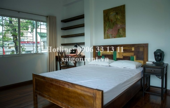 Nice apartment for rent for rent in center District 3- 55m2-1bedroom with balcony-750 $