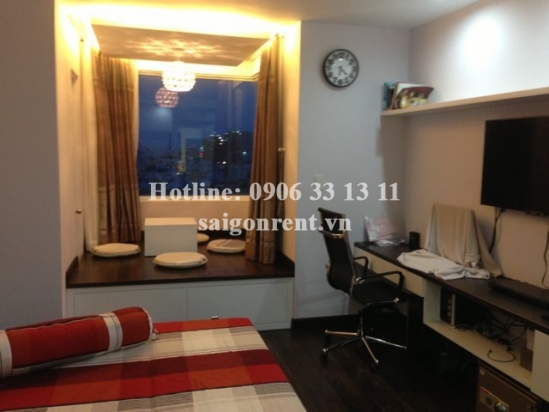 Very luxury apartment on 14th floor, 134sqm for rent in BMC building. Center District 1- 1200$