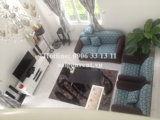Cozy and nice-decorated villa for rent in Villa Park Residence, District 9, 1600USD/month