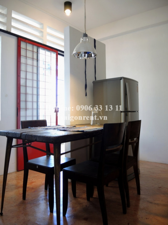 Beautiful apartment 1 bedroom, 50sqm for rent in Tran Quoc Thao street, District 3- 600$