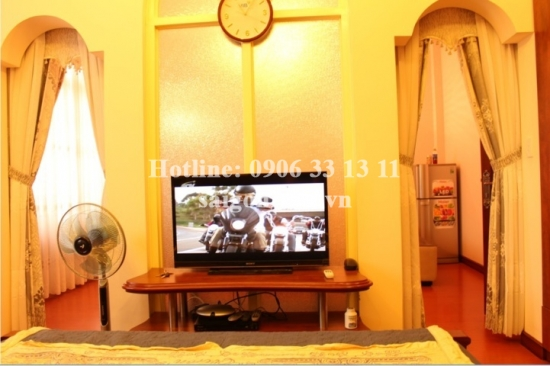 Luxury villa 5bedrooms for rent close to Etown building, Cong Hoa street, Tan Binh district. 2000 USD