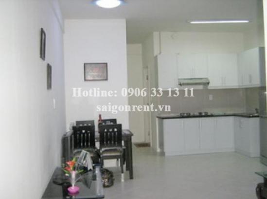 Apartment for rent in Central Garden Building, 2Bedrooms, rental: 750$