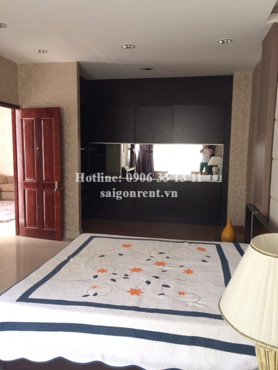 Luxury villa for rent in My Gia, Phu My Hung area, District 7, 05 bedrooms, 320sqm, nice garden price 3000 USD