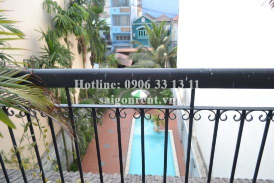 Villa compound 4bedrooms for rent in Nguyen Van Dau street, District Binh Thanh: 2800USD/month