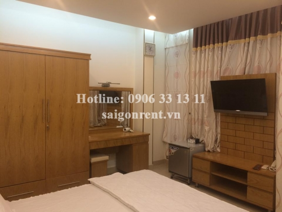 Nice serviced apartments for rent at Le Van Sy Street, District 3. 300  USD/month
