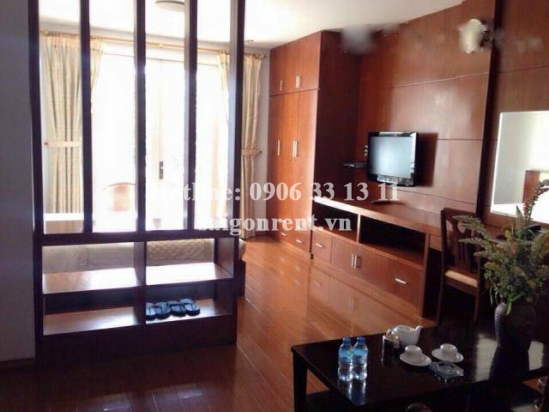 Serviced apartment for rent in Hung Gia street, Phu My Hung area, District 7: 550 USD