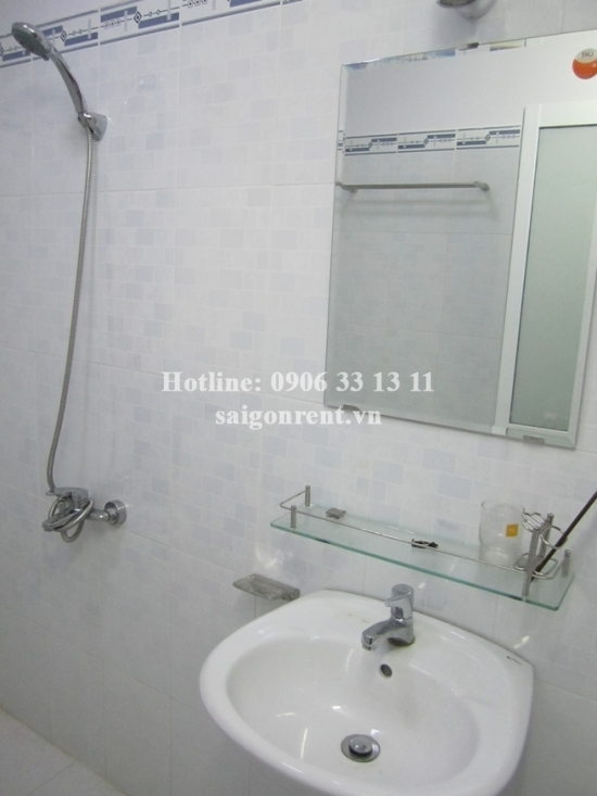 Beautiful house for rent in Nguyen Huu Canh street, Binh Thanh District, 574sqm: 1200 USD