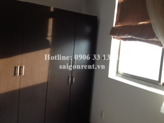 Cool apartment for rent in Screc Tower, Le Van Sy street, District 3, 52sqm: 500 USD
