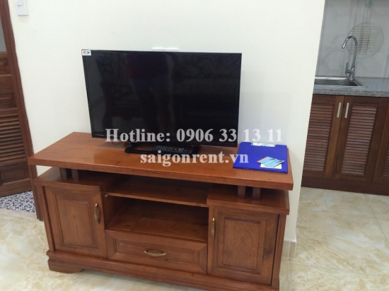 Nice serviced apartment 01 bedroom for rent in Ben Van Don street, District 4, 40sqm: 450 USD
