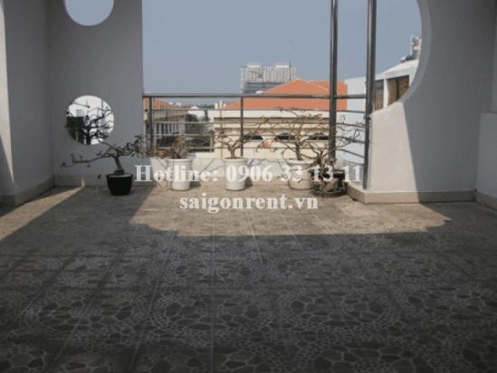 House 05 bedrooms for rent in Nguyen Van Huong street, Thao Dien Ward, 117sqm: 1600 USD