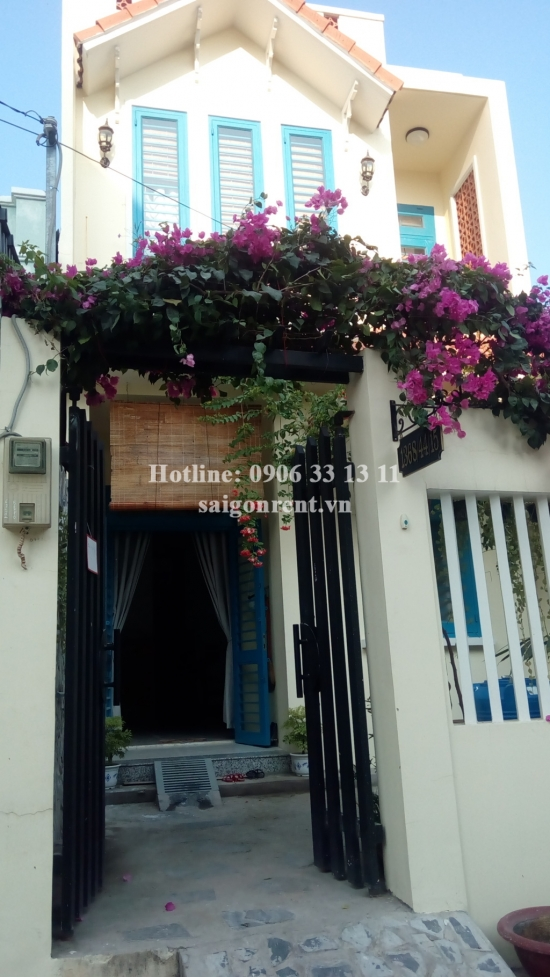 Nice - vintage house for rent in Nha Be Area, 10 mins drive to District 7, 450 USD/month