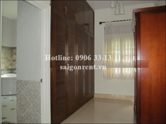 Villa 04 bedrooms with swimming pool in Compound for rent in Thao Dien ward, District 2- 3800 USD