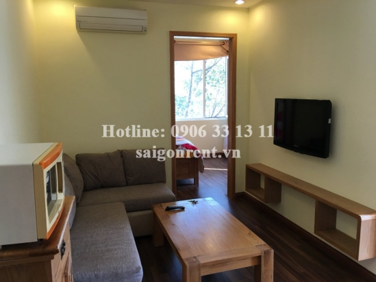 Beautiful serviced apartment 01 bedroom, living room for rent in Tran Hung Dao street, District 5-  5 mins drive to Ben Thanh maket district 1- 515 USD