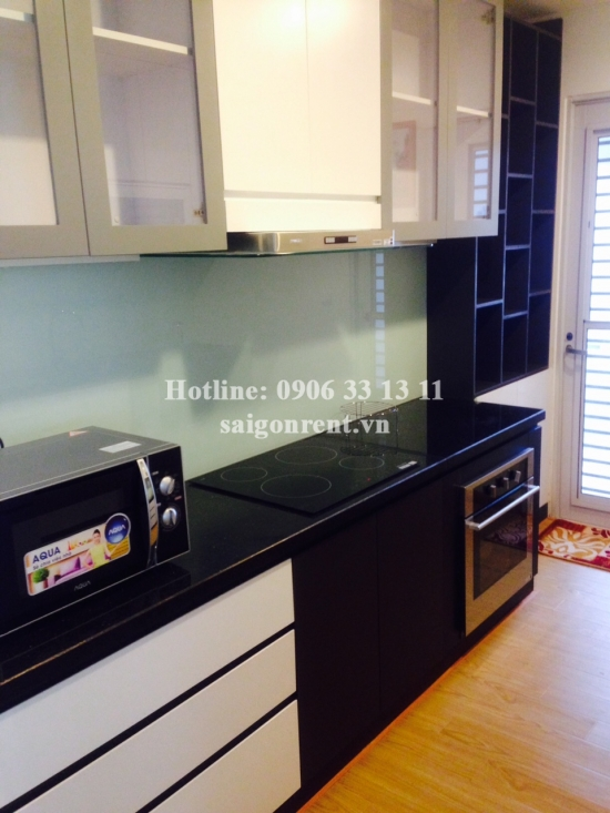Brand new apartment 03 bedrooms on the 19th floor for rent in The Prince Residence on 17 Nguyen van troi street, Phu Nhuan District - 100sqm - 1900USD