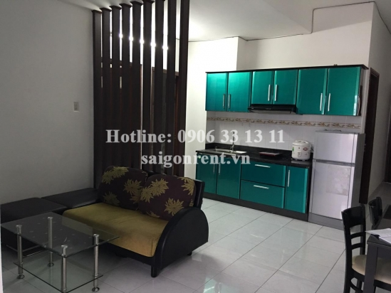 Nice apartment 02 bedrooms with balcony for rent in Nguyen Bieu street, District 5 - 60sqm: 600 USD