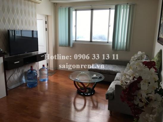 Beautiful 02 bedrooms apartment on 8th floor for rent in Central Garden building - Vo Van Kiet street, district 1- 700 USD