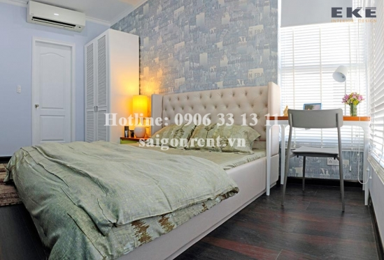 Luxury and Nice decorative apartment 03 bedrooms for rent in The Prince Residence Building on Nguyen Van Troi street, Phu Nhuan District - 109sqm - 1800USD