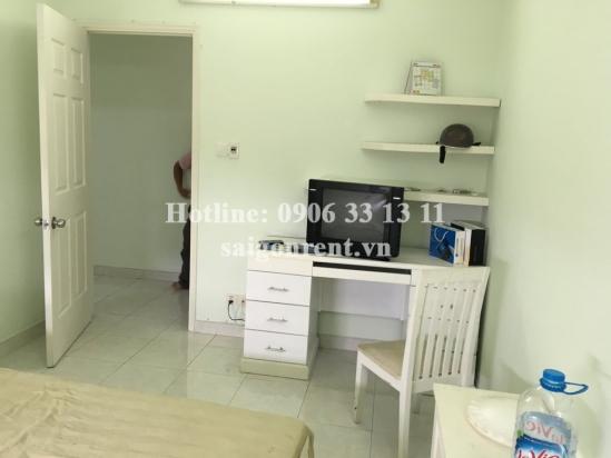 Apartment 02 bedrooms on 8th floor for rent in Central Garden Building, Vo Van Kiet street, District 1: 720 USD