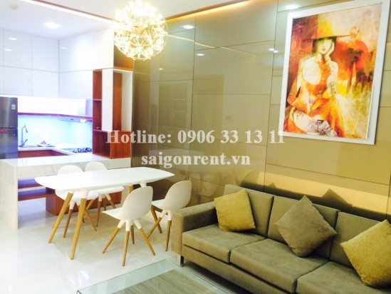 The Prince Residence Building 02 bedrooms for rent on Nguyen Van Troi street, Phu Nhuan District - 71sqm - 1450USD