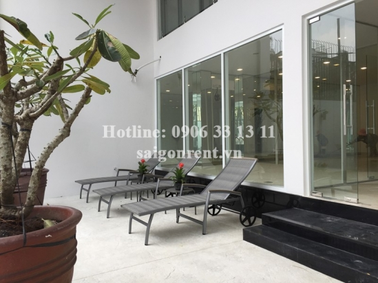 Brand new and Nice serviced apartment 02 bedrooms for rent on Quoc Huong street, Thao Dien Ward, District 2 - 70sqm - 1300USD