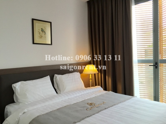 Nice serviced 01 bedroom for rent on Quoc Huong street, Thao Dien Ward, District 2 - 46sqm - 610USD