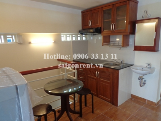 Apartment 01 bedroom for rent on Thanh Thai street, Ward 14, District 10 - 55sqm - 500USD