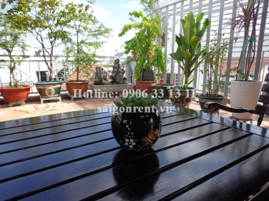 Apartment 01 bedroom for rent on Thanh Thai street, Ward 14, District 10 - 70sqm - 700USD