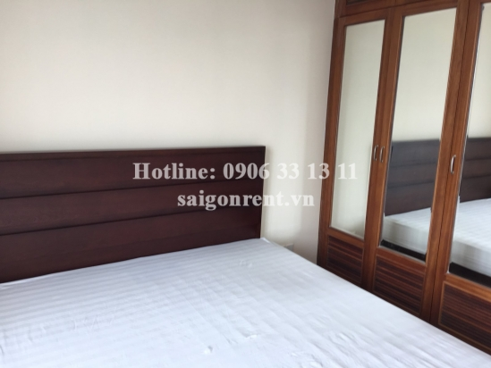 Apartment 03bedrooms on 14th floor for rent in HAGL3 building ( New Saigon) district 7- 700 USD