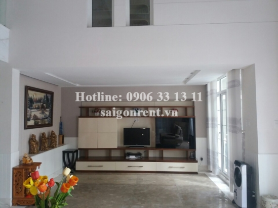 Beautiful villa 04 bedrooms for rent in Kim Long compound- Nguyen Huu Tho street, district 7-  $3000