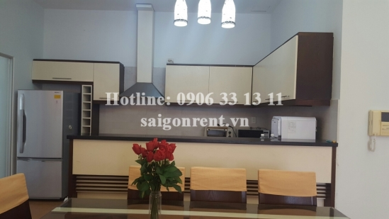 Apartment 03 bedrooms in Garden Plaza 2 building on Nguyen Duc Canh , Phu My Hung area, district 7 - 1500 USD