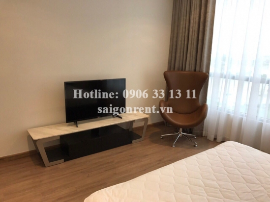 Vinhomes Central Park building - Brand new, beautiful and luxury apartment 04 bedrooms for rent on Nguyen Huu Canh street - Binh Thanh District - 154sqm - 2400 USD