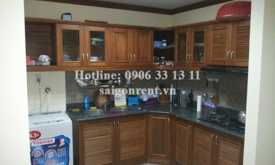 Hoang Anh Gia Lai 3 Building - Apartment 02 bedrooms for rent on Nguyen Huu Tho Street, District 7 - 100sqm - 520USD