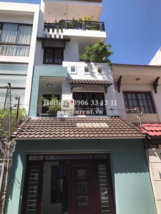 Nice house 4 bedrooms for rent on Do Quang street, District 2 - 220sqm - 1200USD