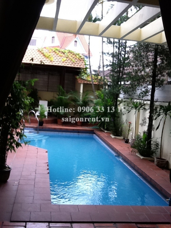 Villa 03 bedrooms with nice swimming pool for rent in Thao Dien Ward, District 2 - 500sqm - 2700USD