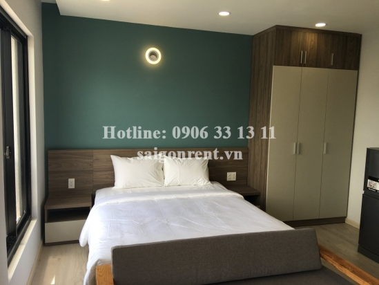 Brand new, luxury and nice serviced studio apartment 01 bedroom for rent Truong Sa street - 30sqm - 1000 USD