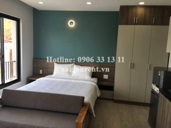 Brand new, luxury and nice serviced studio apartment 01 bedroom for rent Truong Sa street - 30sqm - 750 USD