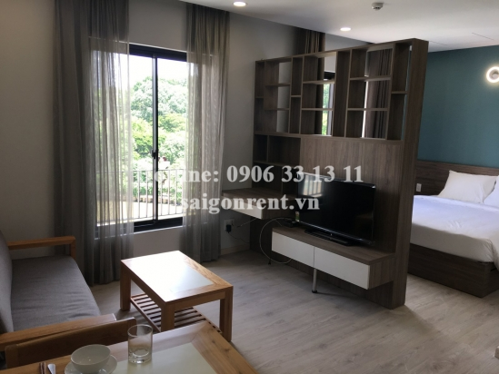 Brand new, luxury and beautiful serviced studio apartment 01 bedroom for rent Truong Sa street - 35sqm - 900 USD