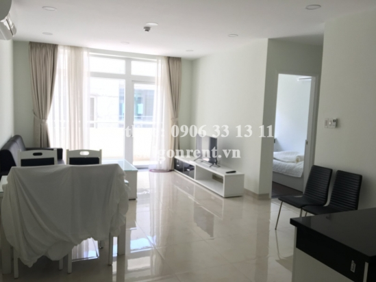 Serviced apartment 02 bedrooms with balcony, large living room for rent on Nguyen Van Huong street, District 2 - 80sqm - 950 USD