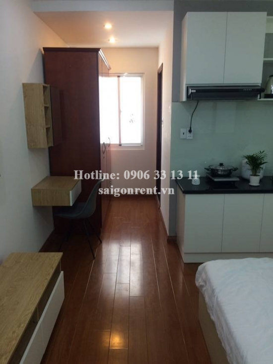 Nice serviced studio apartment for rent on Tran Khac Chan street, Tan Dinh Ward - District 1 - 30sqm - 400USD