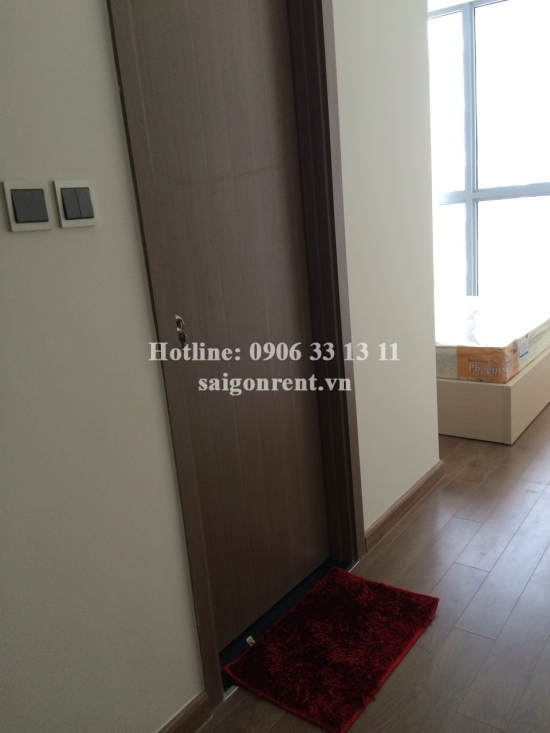 Vinhome Central Park - Apartment 02 bedrooms on 16th floor for rent on Nguyen Huu Canh street - Binh Thanh District - 72sqm - 1000 USD