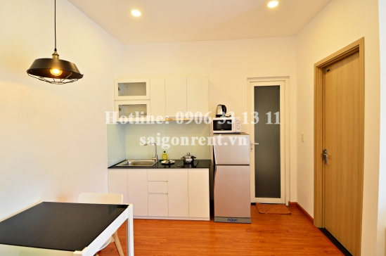 Service Apartment 01 bedroom with balcony for rent on Nguyen Ngoc Phuong street - Binh Thanh District - 40sqm - 600USD