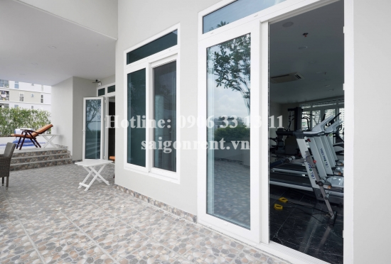 Nice serviced apartment 01 bedroom for rent on  Nguyen Van Huong street, District 2 - 45sqm - 650USD