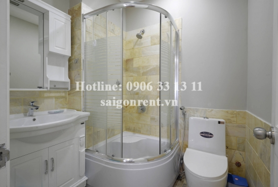 Nice serviced apartment 01 bedroom for rent on Nguyen Van Huong street, District 2 - 38sqm - 600USD