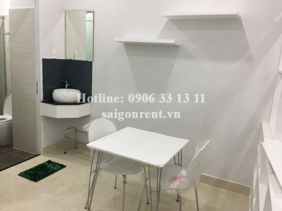 Brand new and nice serviced studio apartment 01 bedroom for rent on Le Quang Dinh street - Binh Thanh District - 30sqm - 360 USD