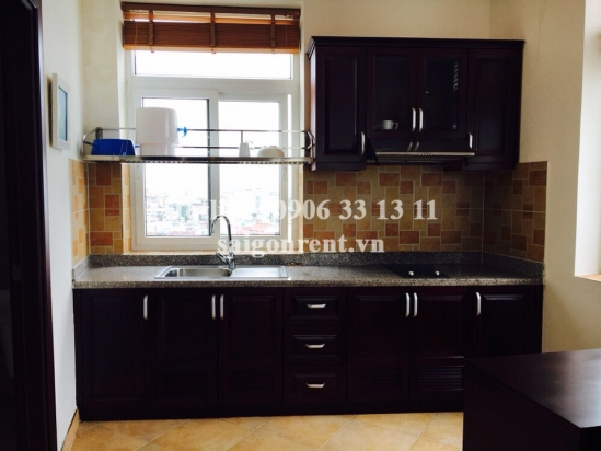 Serviced apartment 01 bedroom with balcony for rent on Nguyen Dinh Chinh Street, Phu Nhuan District - 60sqm - 700 USD